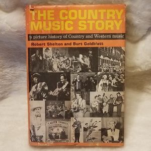 Vintage Book The Country Music Story